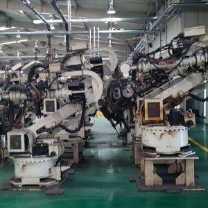 used kawasaki robots